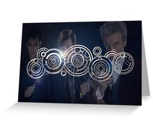 Doctor Who Triple Threat Greeting Card