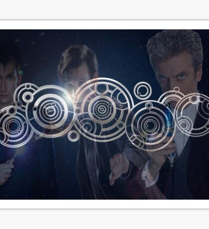 Doctor Who Triple Threat Sticker