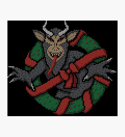 Krampus Busters Photographic Print