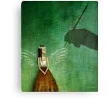 Invisible angel Canvas Print