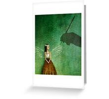 Invisible angel Greeting Card