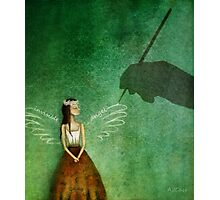 Invisible angel Photographic Print
