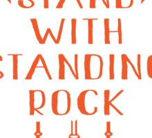 I Stand With Standing Rock, No Dakota Pipeline Sticker