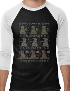 Decorate! Illuminate! Celebrate! Men's Baseball ¾ T-Shirt