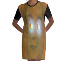Caviar Eyes, by (Mickeys Art And Design) Graphic T-Shirt Dress