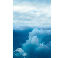 Dramatic stormy sky with clouds Photographic Print