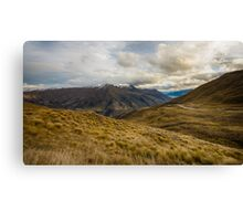 View from Crown Range Road Canvas Print