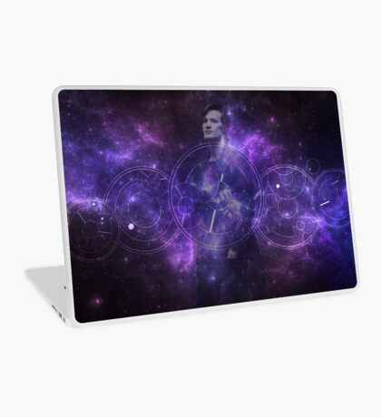 Eleventh Doctor Who Galaxy Laptop Skin