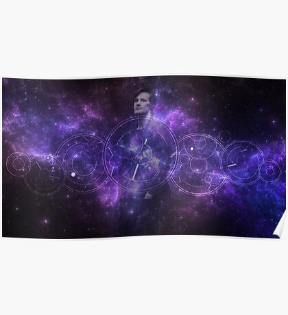 Eleventh Doctor Who Galaxy Poster