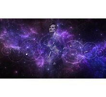 Eleventh Doctor Who Galaxy Photographic Print