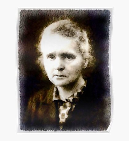 Marie Curie, Scientist Poster