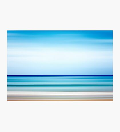 Abstract background. Sea and coastline. Photographic Print