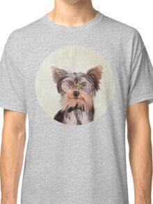 Yorkshire Terrier portrait Classic T-Shirt