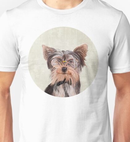 Yorkshire Terrier portrait Unisex T-Shirt