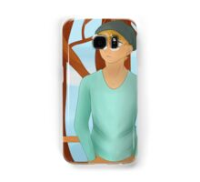 Waiting for her Samsung Galaxy Case/Skin