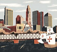 Columbus, Ohio by Sam Brewster
