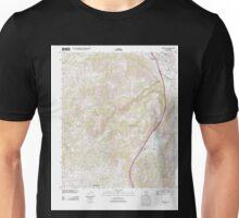USGS TOPO Map California CA Temecula 20120420 TM geo Unisex T-Shirt