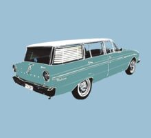 XM Falcon Wagon (Blue) One Piece - Short Sleeve
