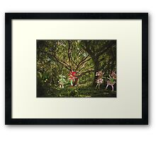 MEANWHILE  Framed Print