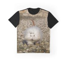 dog with cat tail Graphic T-Shirt