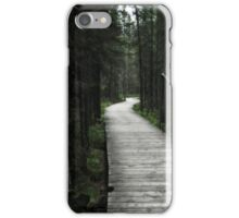 Spruce Bog Boardwalk Algonquin iPhone Case/Skin