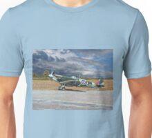 Spitfire under Storm Clouds Unisex T-Shirt