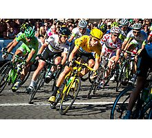 Tour de France 2012 champs elysees Photographic Print