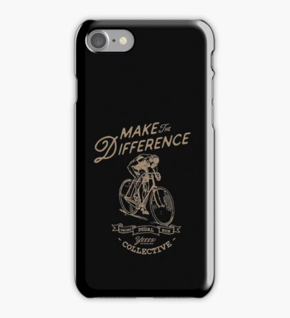Make the diference iPhone Case/Skin