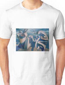 waiting on the shore  Unisex T-Shirt