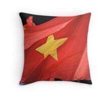 Vietnamese flag Throw Pillow