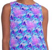 rosy disposition  Contrast Tank