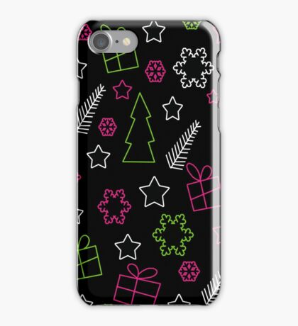 Elegant Xmas pattern iPhone Case/Skin