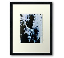 WOLF MOON (X-Scapes) Framed Print