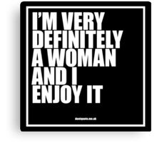 Marilyn Monroe - Definitely A Woman Canvas Print