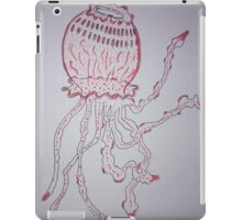 red jellyfish iPad Case/Skin