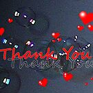 Thank You Card by lezvee