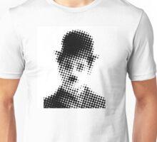 Desperate Childhood - Charlie Chaplin Halftone Unisex T-Shirt
