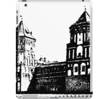Minsk, Belarus, Europe. historic castle.  iPad Case/Skin