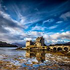 Eilean Donan Castle by Sandra Anderson