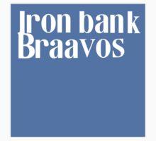 Iron Bank Braavos Shirt by 3301