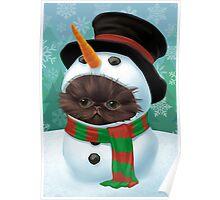 Cataclysm - Persian Kitten (Christmas Edition) Poster