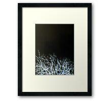 BONES (X-Scapes) Framed Print