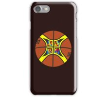 FIBA official basketball, without text iPhone Case/Skin