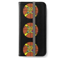 FIBA official basketball, without text iPhone Wallet/Case/Skin