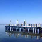 Dock at Long Beach Island by Éilis  Finnerty Warren