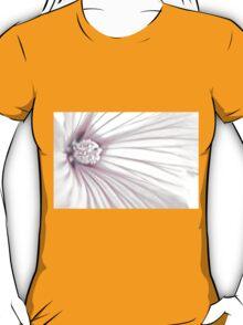 Lavatera Flower Stamen Macro  T-Shirt