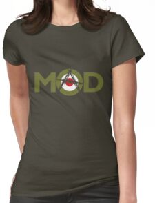 Mad Mod Womens Fitted T-Shirt