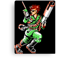 Bionic Commando T-shirt 1 Canvas Print