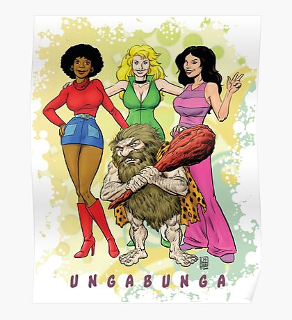 Ungabunga - Saturday Mornings Reimagined... Poster