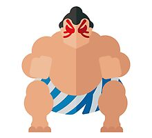 Sumo fighter by miguelolivera